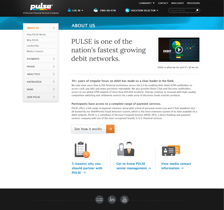 Pulse About Us Page